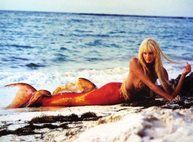 Daryl Hannah Splash Mermaid Tail 301 Moved Perma...